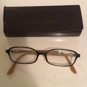 Authentic BCBG RX glasses and case